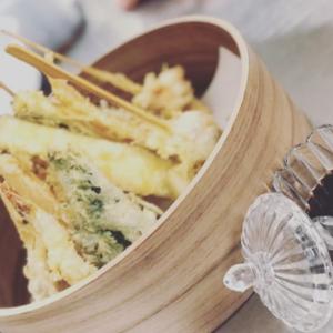 tempura di gamberi e verdure oishi teramo