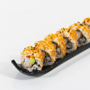 California roll oishi sushi delivery teramo